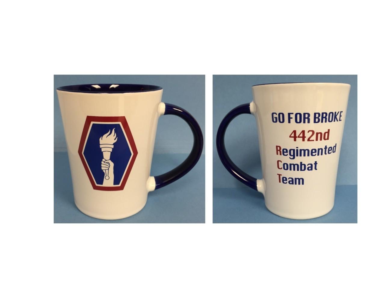 Unit Crest Go For Broke 442nd Regimental Combat Team Mug