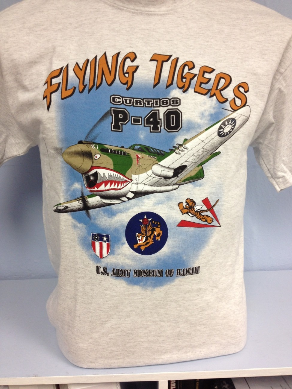 Flying Tigers Curtiss P-40 T-Shirt - Adult