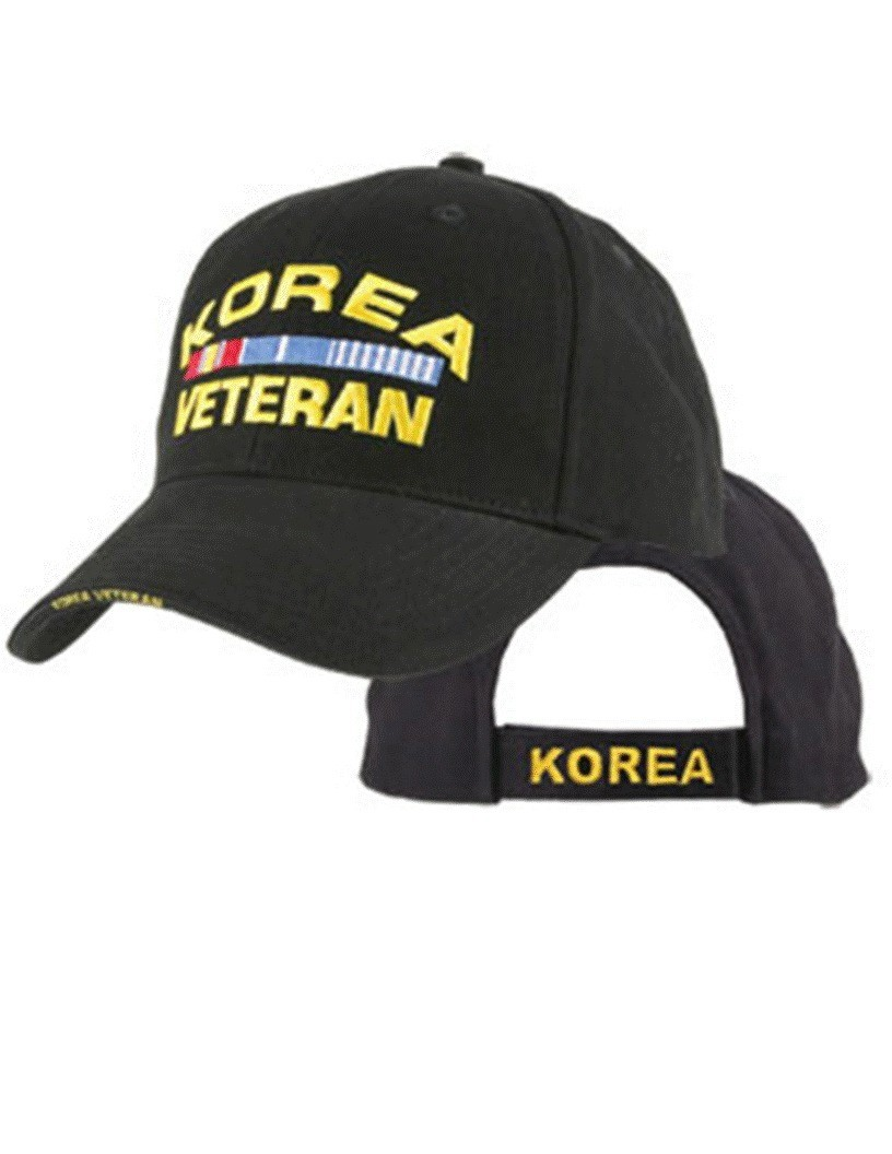 Korea Veteran Cap with Ribbons