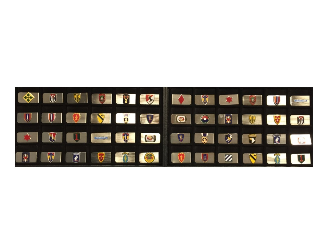 Money Clips with Unit or Award Insignia