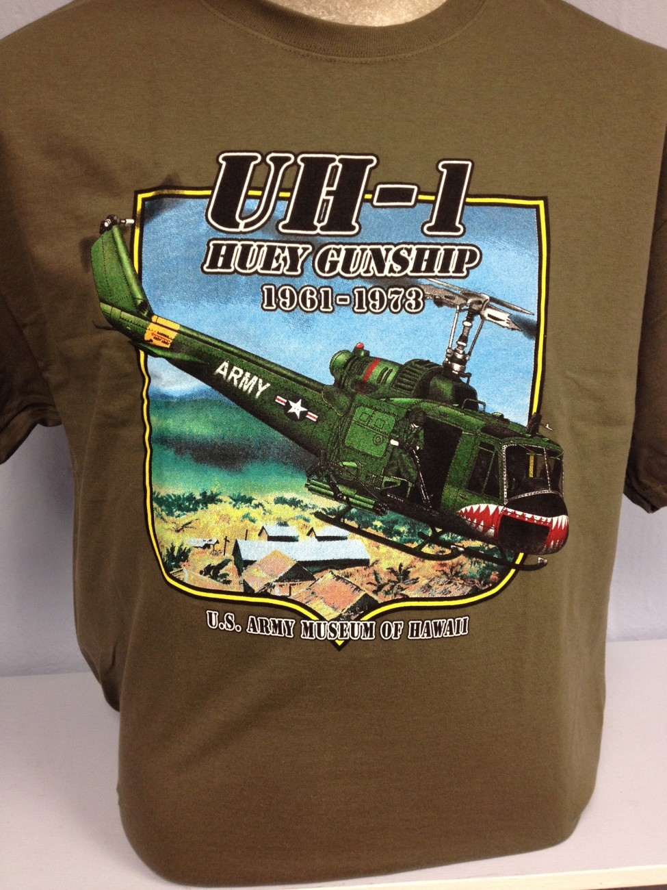 UH-1 Huey Gunship 1961-1973 T-Shirt - Adult