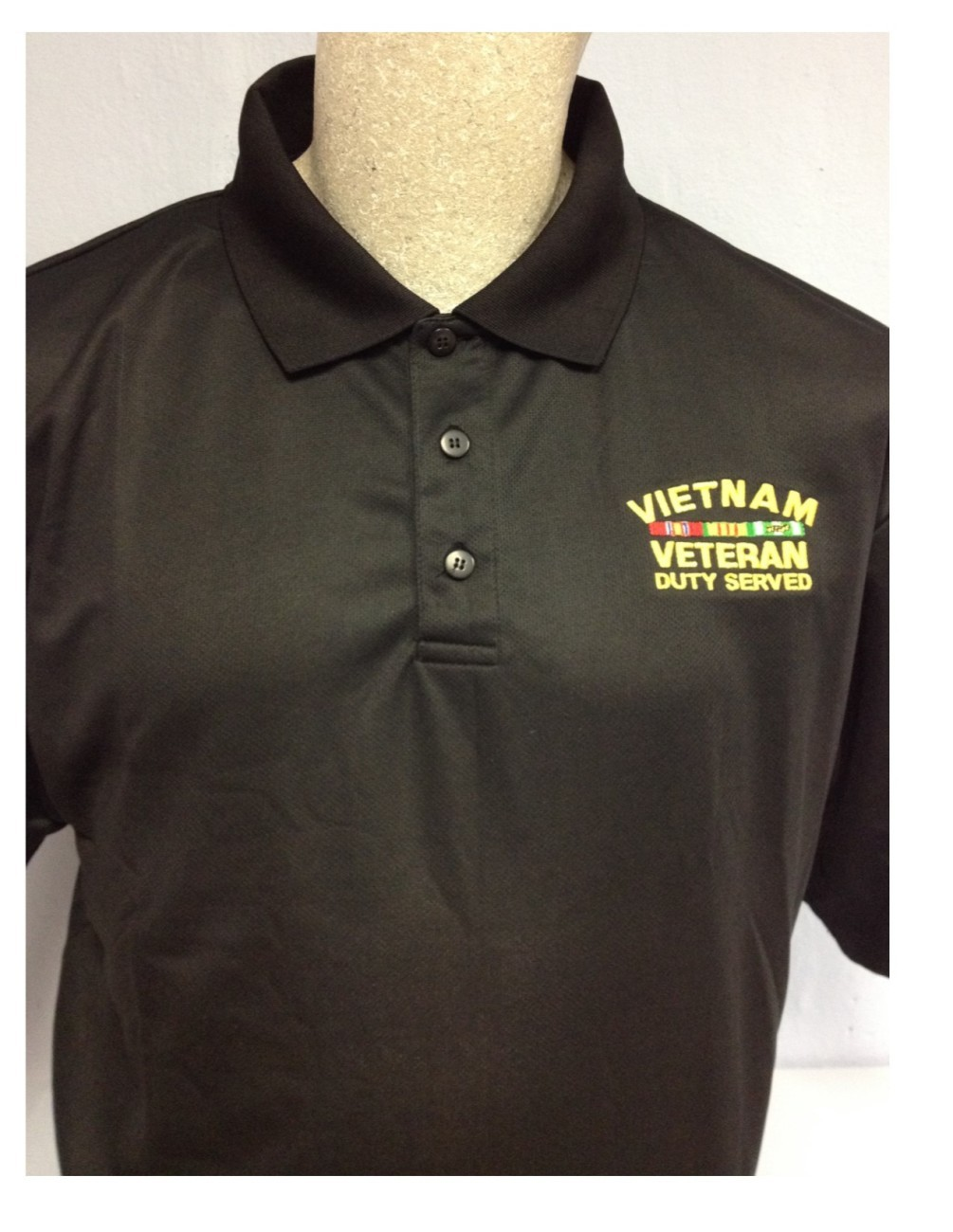 Vietnam Veteran Polo PlayDry