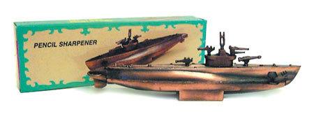 Submarine Pencil Sharpener