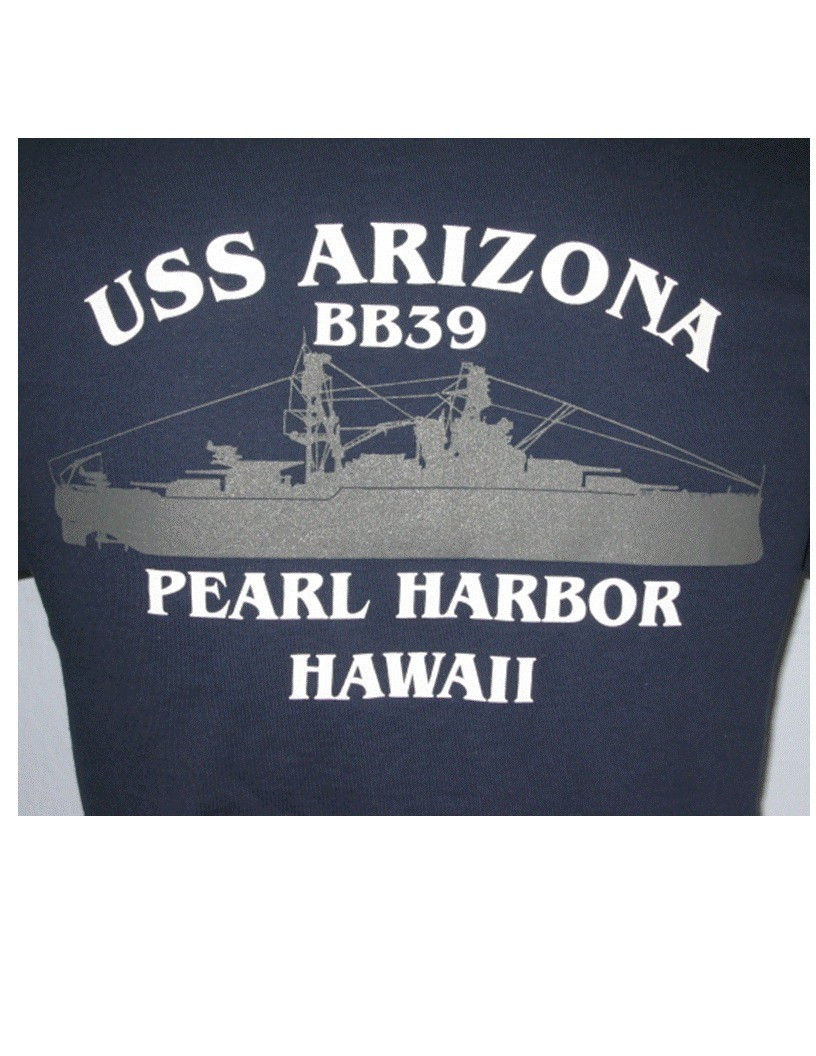 USS Arizona T-shirt - Adult