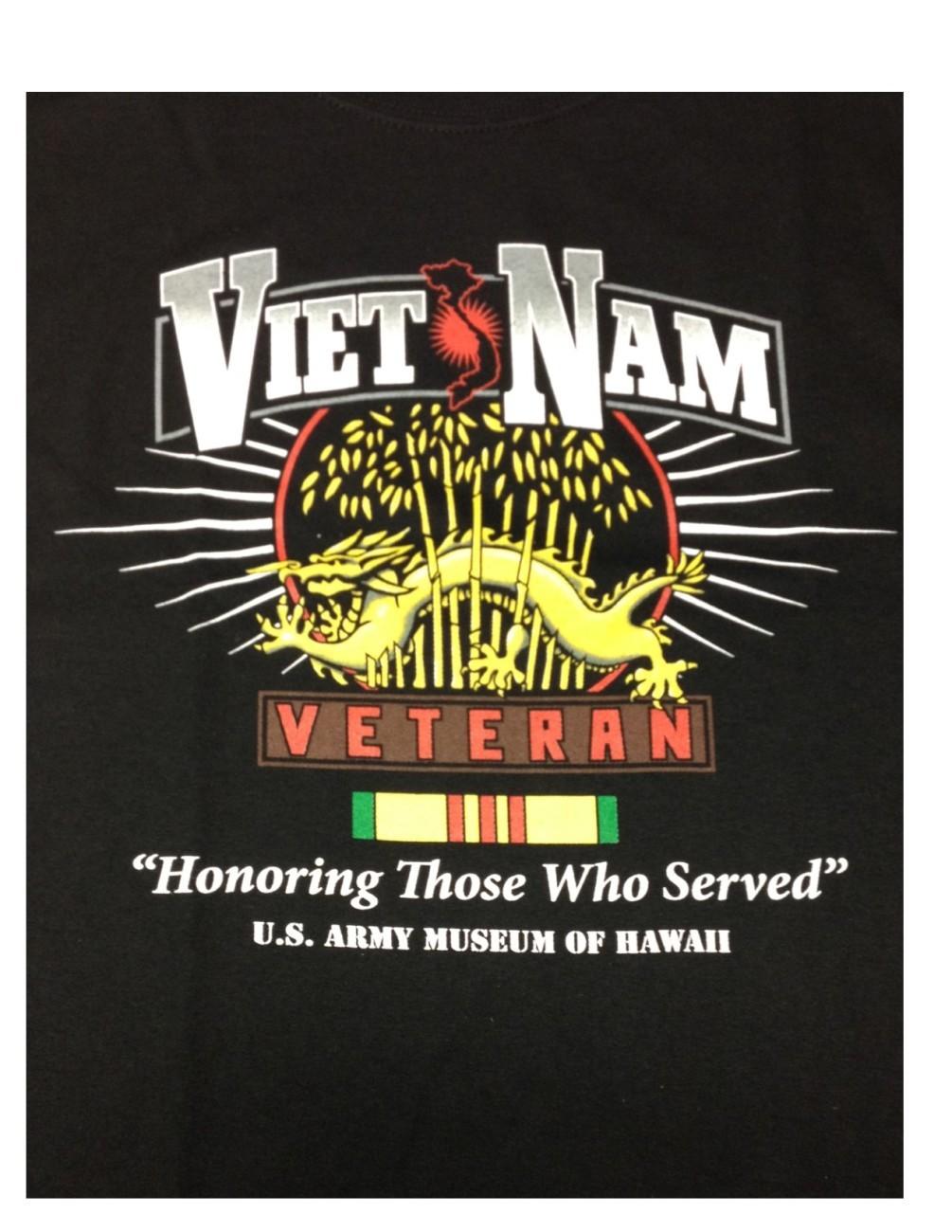 Vietnam Veteran T- Shirt - Adult