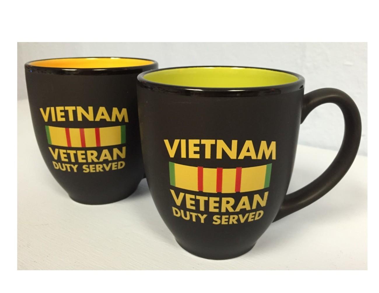 Vietnam Veteran Service Ribbon Bistro Mug