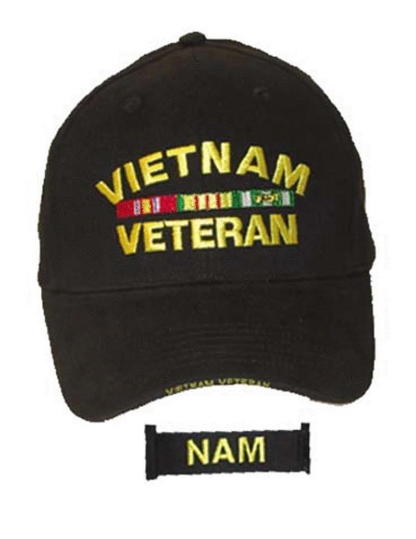 Vietnam Veteran Cap w/Ribbons