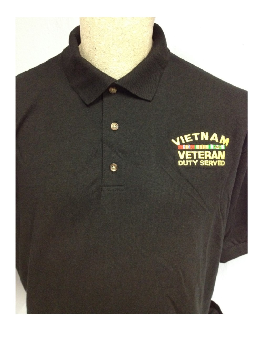 Vietnam Veteran Polo in 100% Cotton
