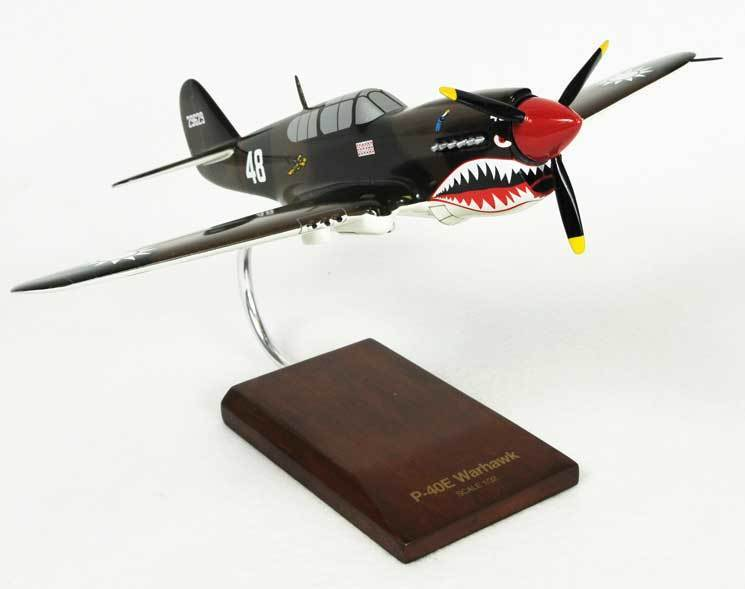 "P-40E Warhawk ""Flying Tigers"" #48 as flown by Tex Hill"