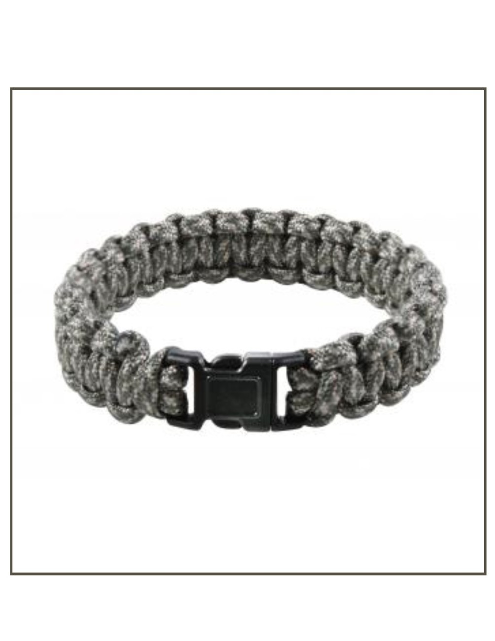 Woodland Camo Paracord Braclet