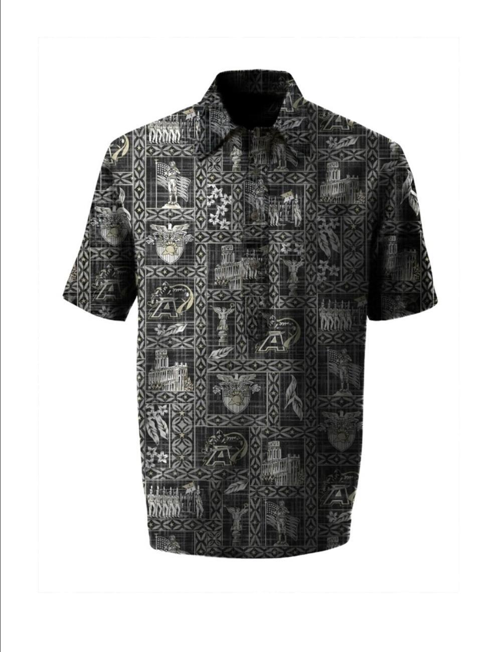 "West Point ""Go Army"" Aloha Shirt - Men"