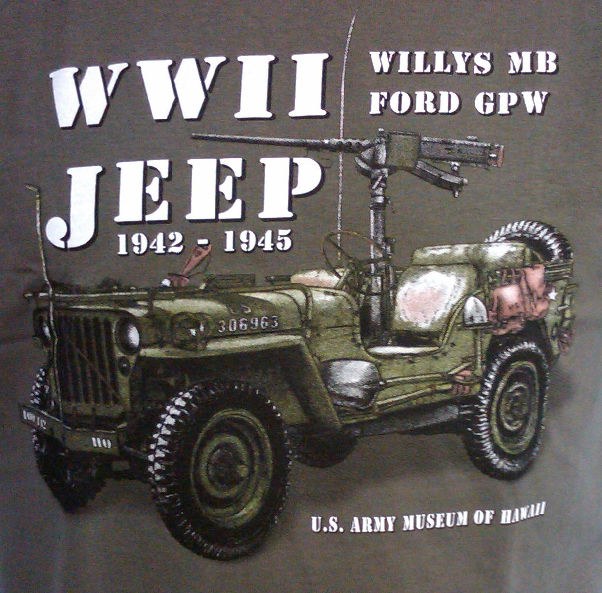 Willys Jeep T-Shirt - Adult