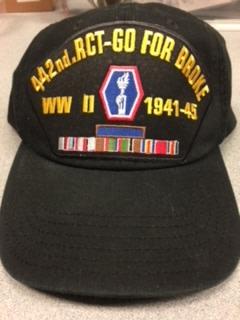 442 RCT Veteran Cap