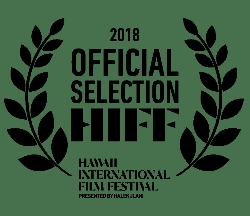 HIFF38 | Hawaii International Film Festival Laurels - Black