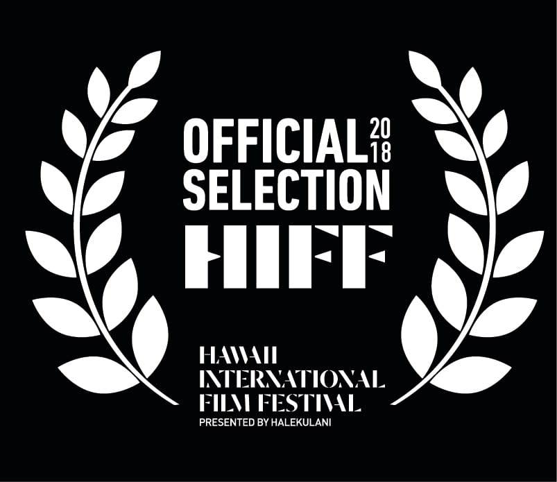 HIFF38 | Hawaii International Film Festival Laurels - White