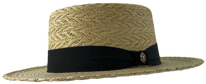 panama boater hat