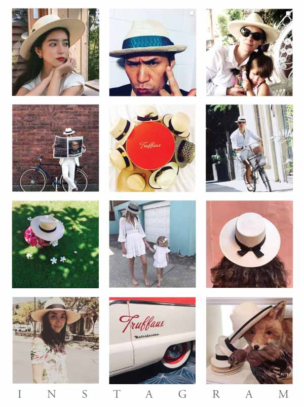 For all the people who have loved us on Instagram - we love you! - The world leader in original Panama hats - creating beautifully styled handmade Panama hats for all the hat lovers