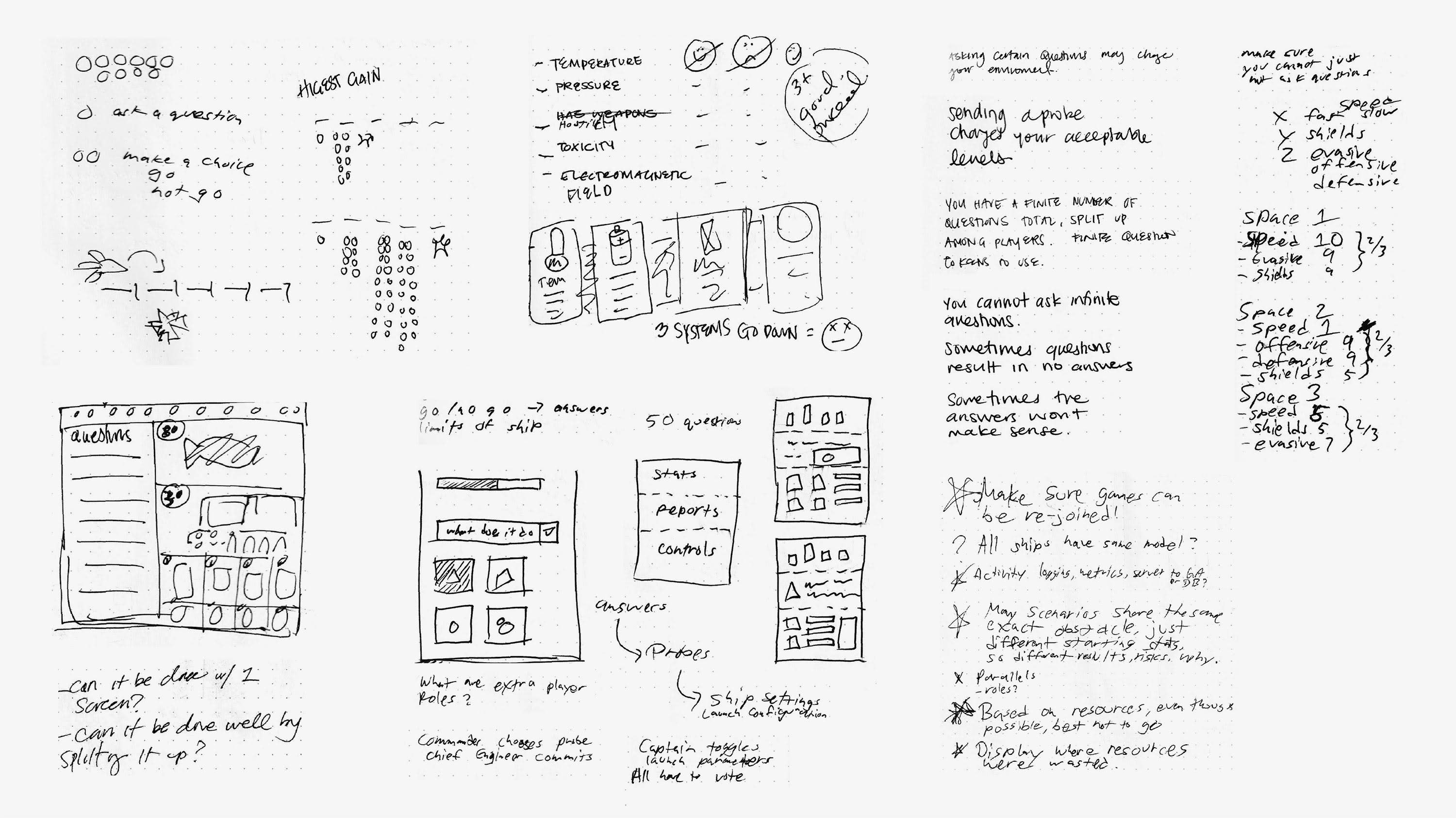 Initial UI Sketches