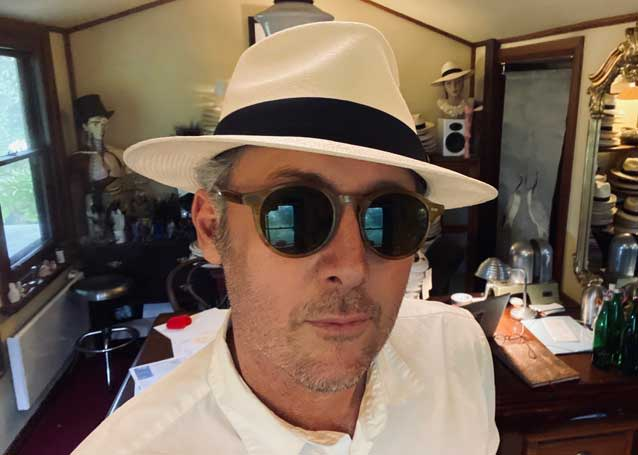diamond trilby panama hat
