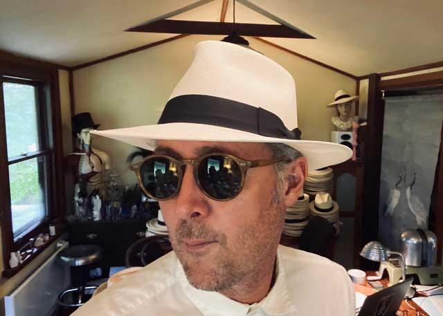 the Diamond Fedora Panama Hat