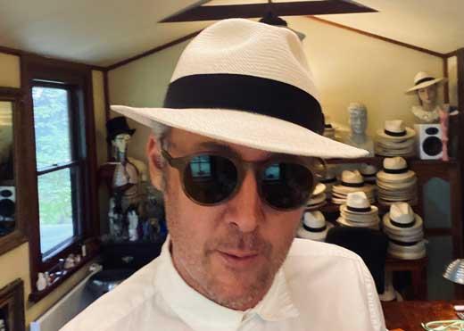 casablanca trilby panama hat