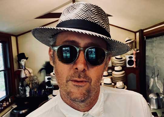 kerouac panama hat