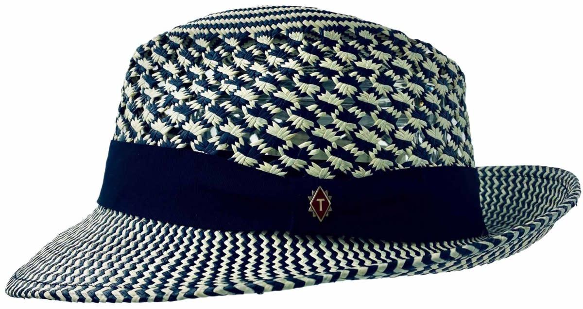 blue valentine panama hat