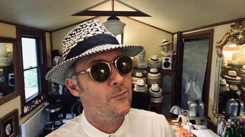 blue valentine truffaux panama hat