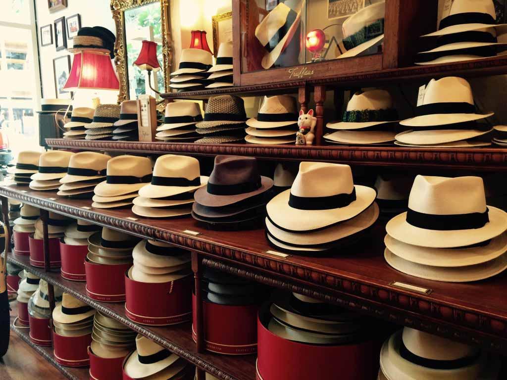 Worlds largest range of Panama hats