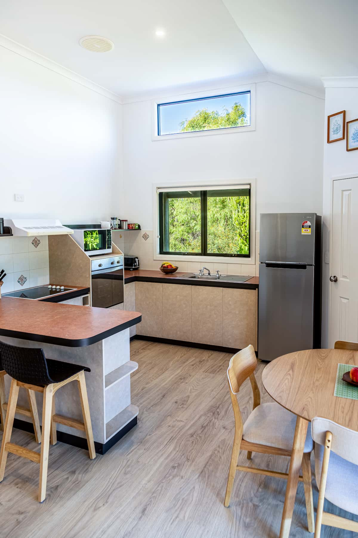 Gampi's kitchen and dining area
