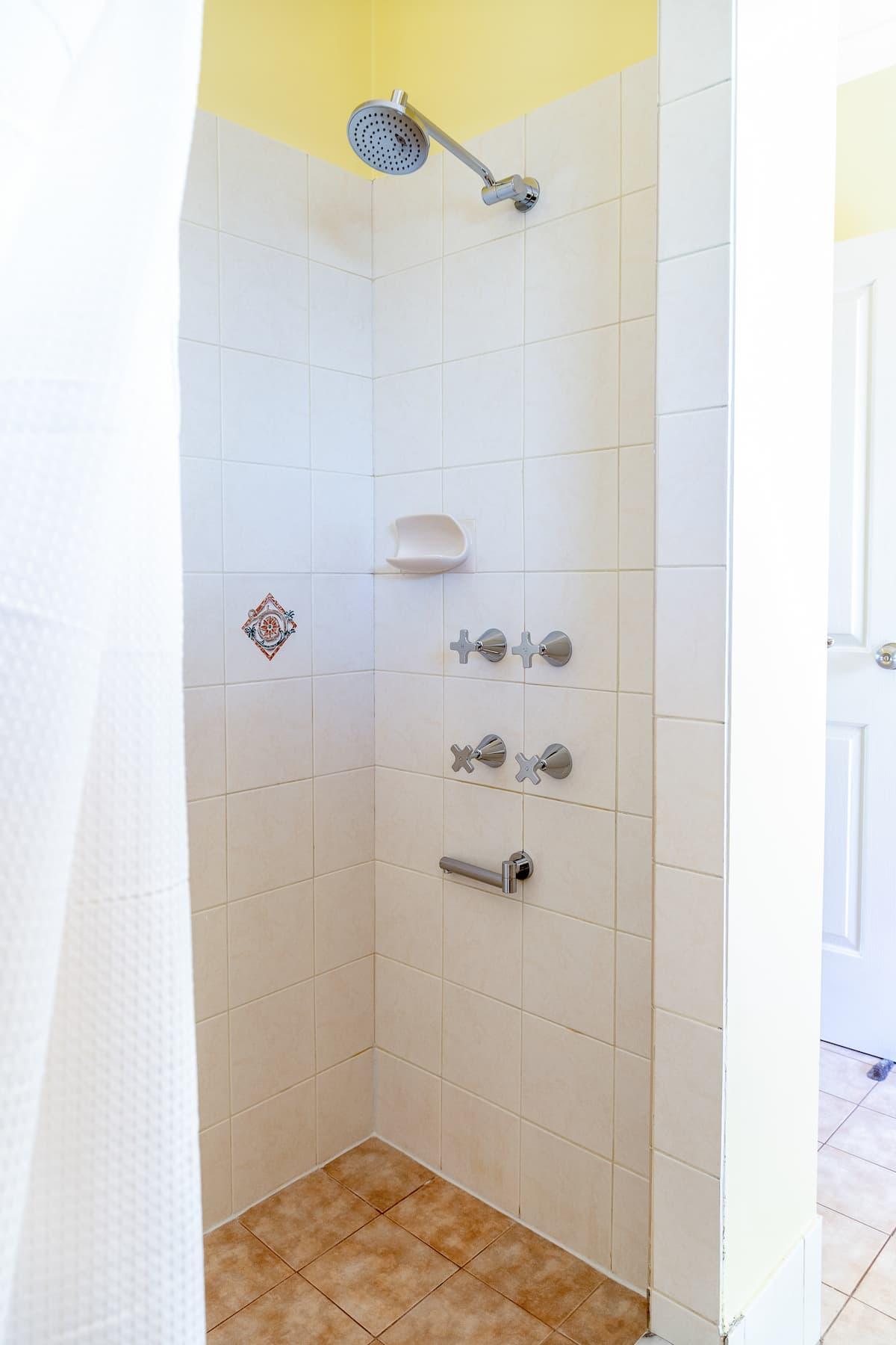 Gampi's shower