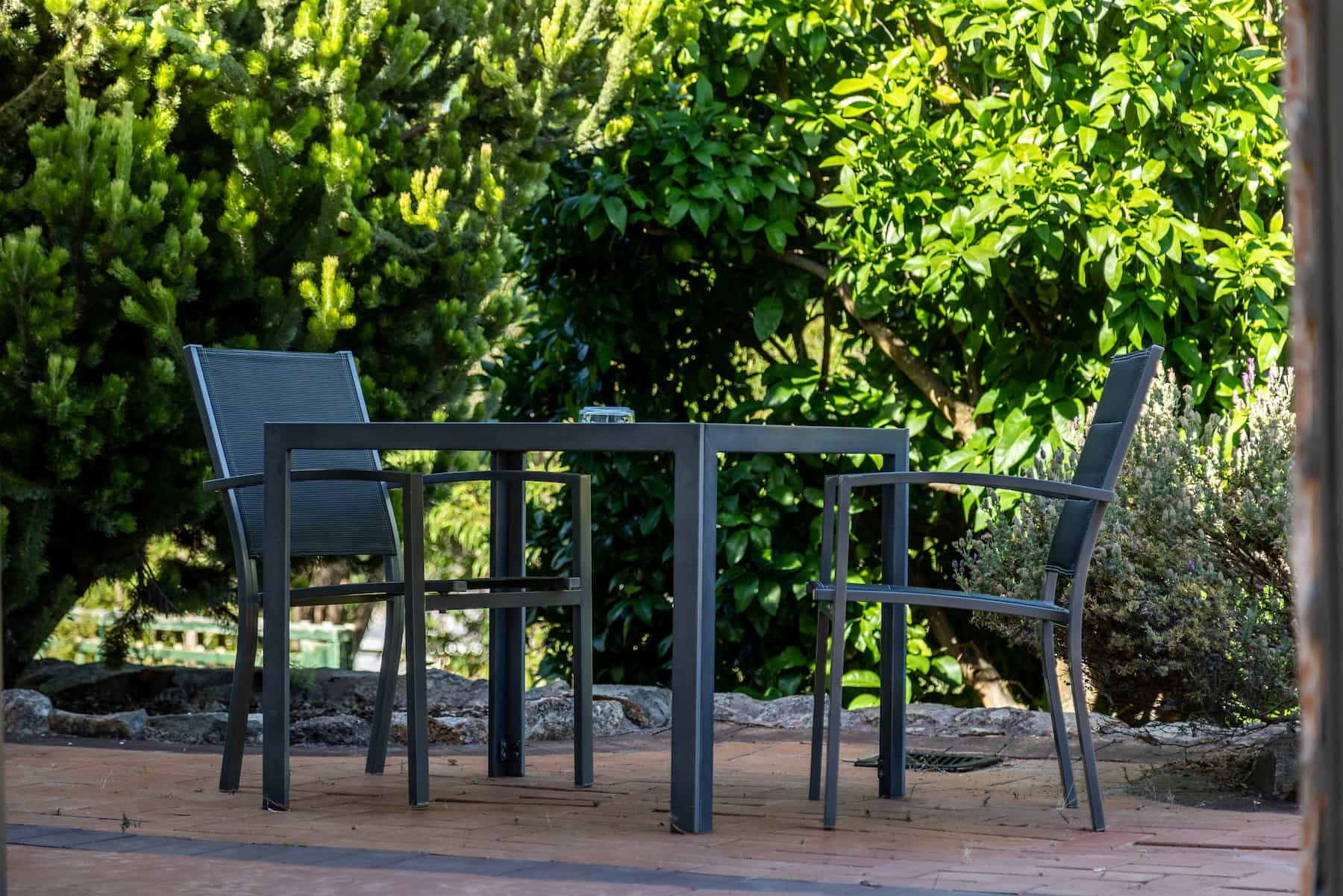 Gampi's outdoor seating area