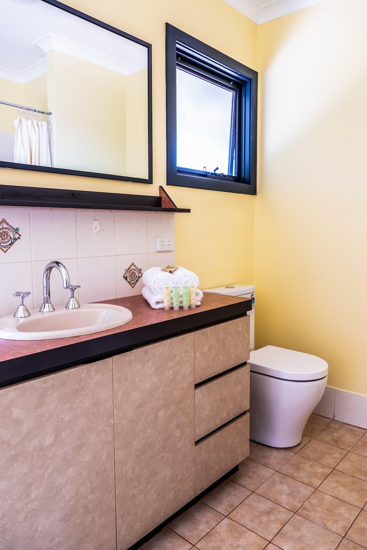 Gampi's bathroom