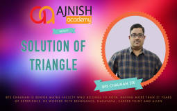 Solution Of Triangles