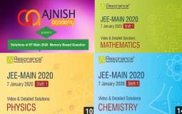 IIT Main 2020 Video Solutions (7 January)