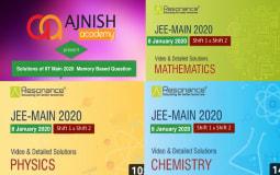 IIT Main 2020 Video Solutions (8 January)