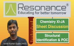 Sheet Discussion XI-JA (Structural Identification & POC)