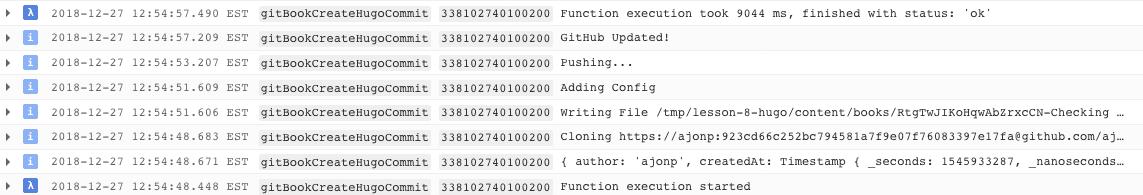 Git Creat Log