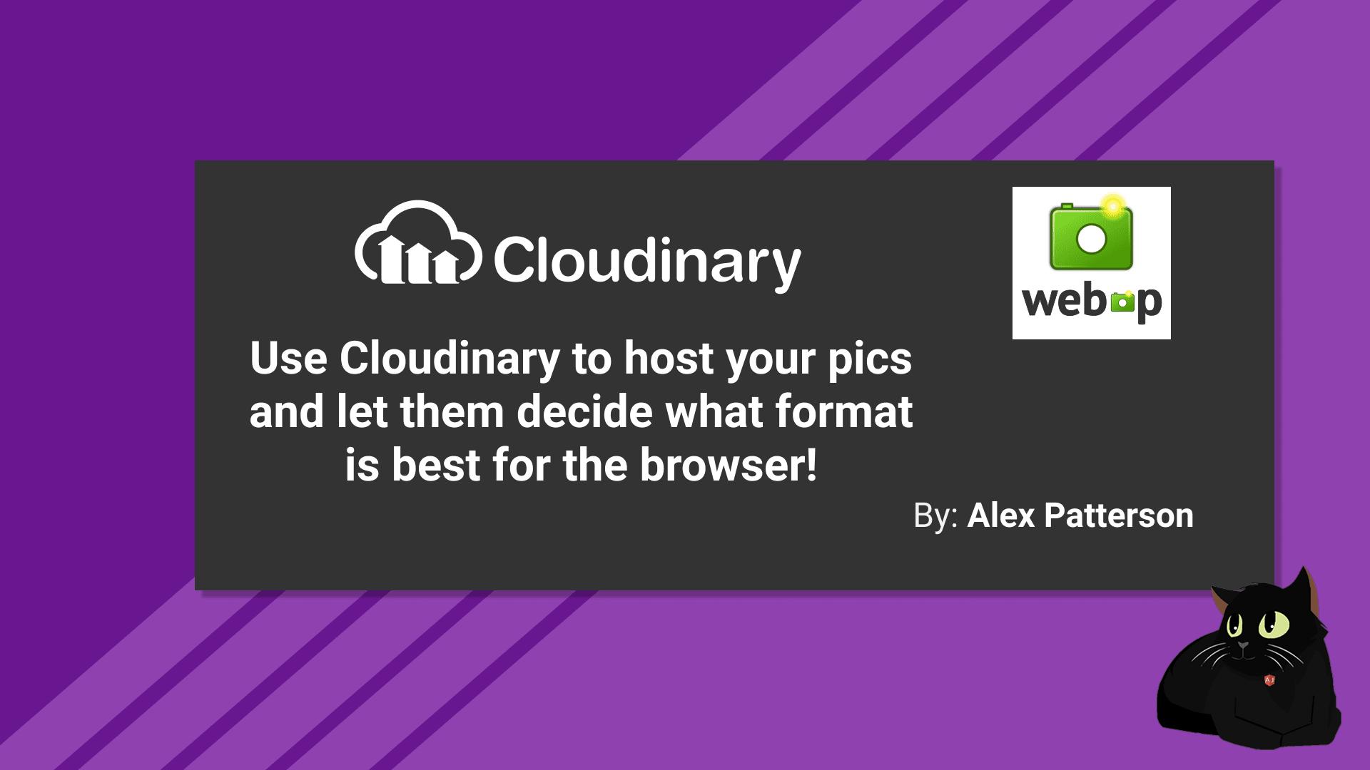 Cloudinary Webp