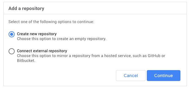 Google Cloud Repository Add