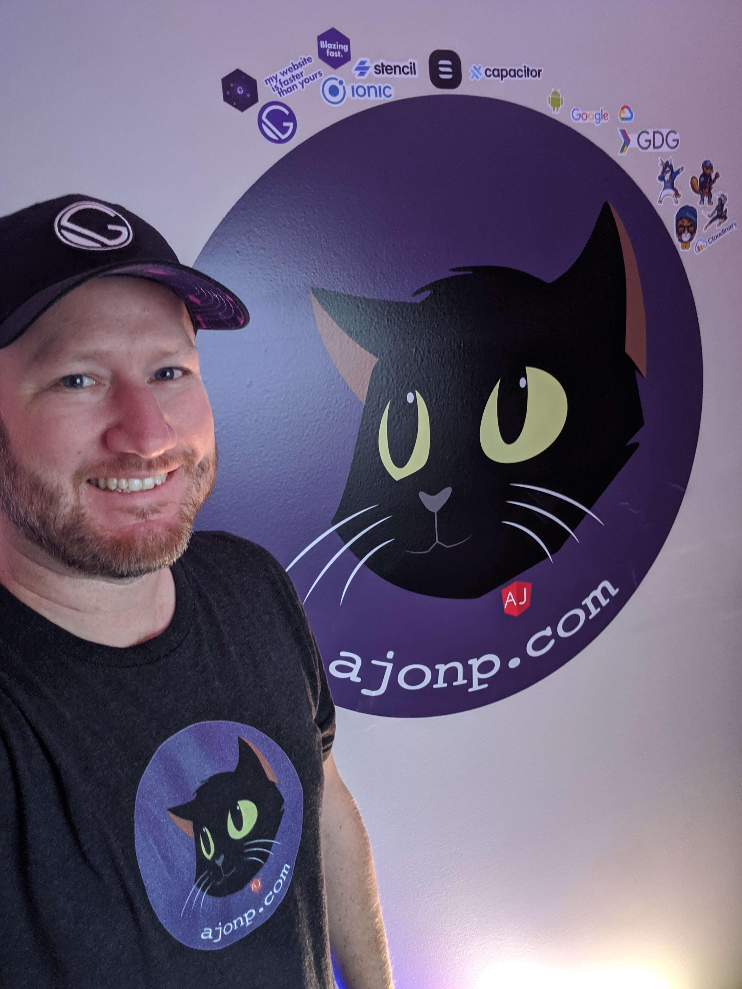 Alex Standing by AJonP Studio Logo