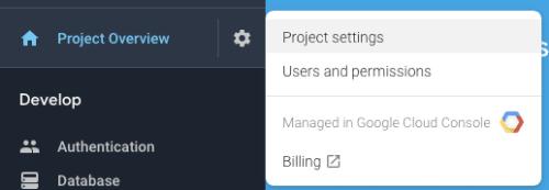Project Settings