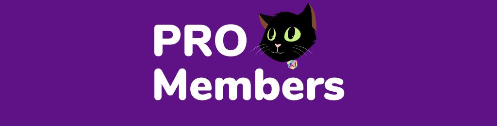 Pro Members Banner2