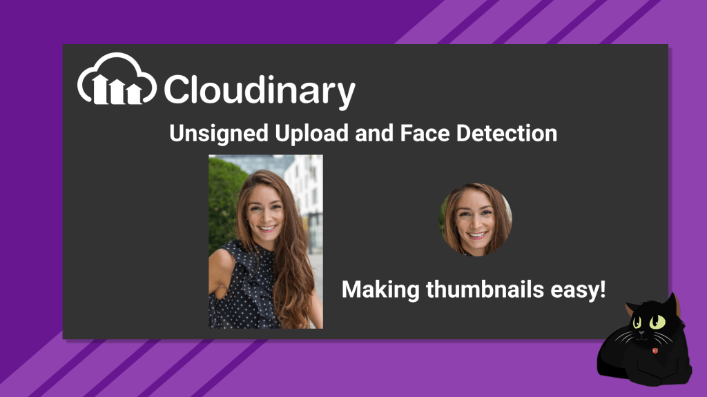 Cloudinary Face Detection