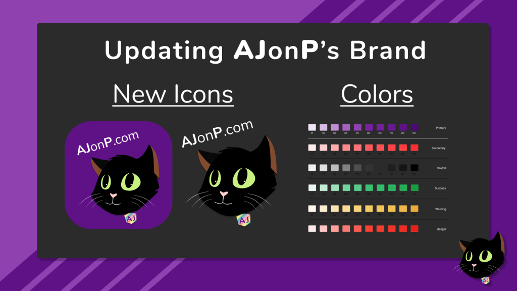 Updating AJ's Brand
