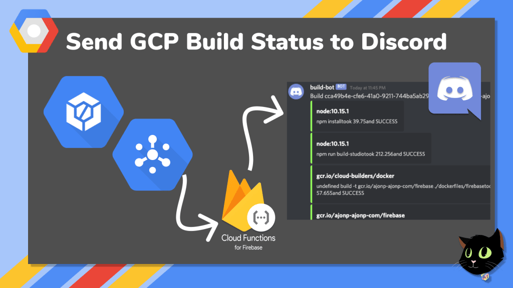 gcp build to discord
