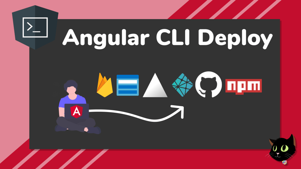 angular cli deploy with images of firebase azure zeit netlify github npm