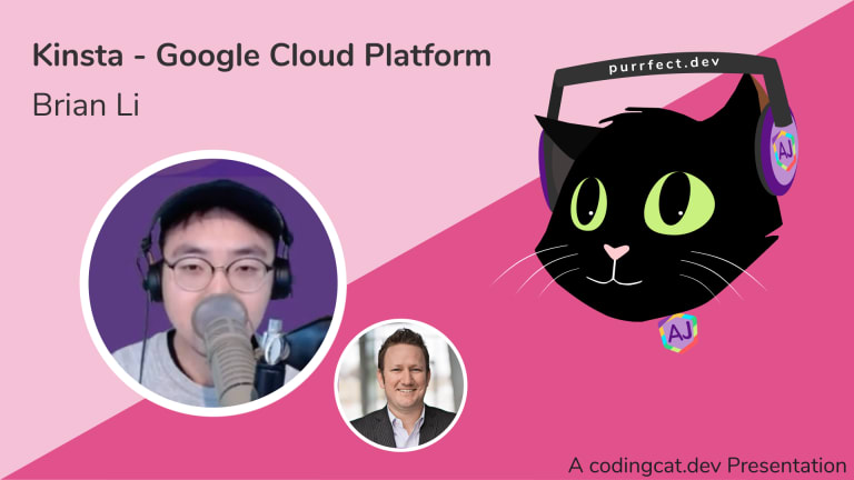 Kinsta Google Cloud Platform Home