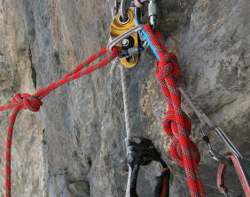 Using Fixed Ropes