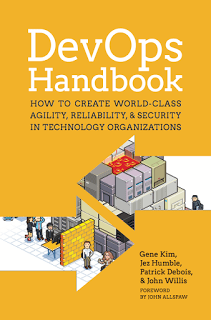 DevOps Handbook cover photo